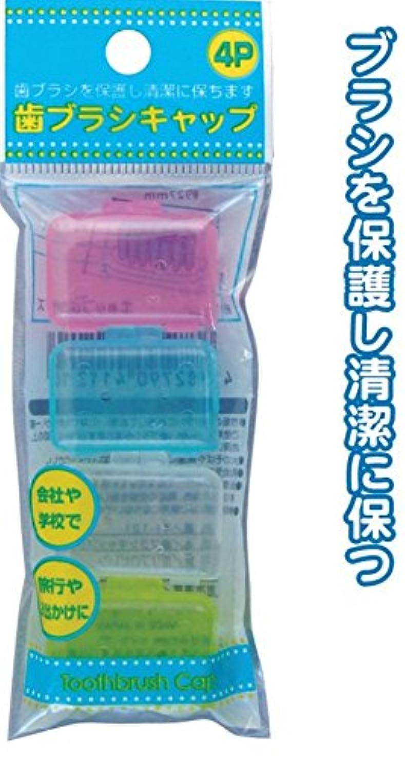 いろいろディスカウント腐った歯ブラシキャップ(4P) 【まとめ買い12個セット】 41-121