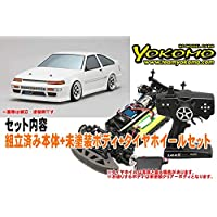 ヨコモ ドリフトレーサー+デカールレスボディセット 品番DP-DRG3-AE86BS