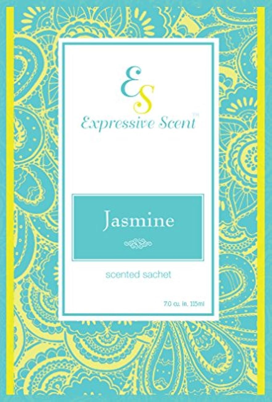 新しい意味カビ近似6 Pack Jasmine Large Scented Sachet Envelope By Expressive Scent