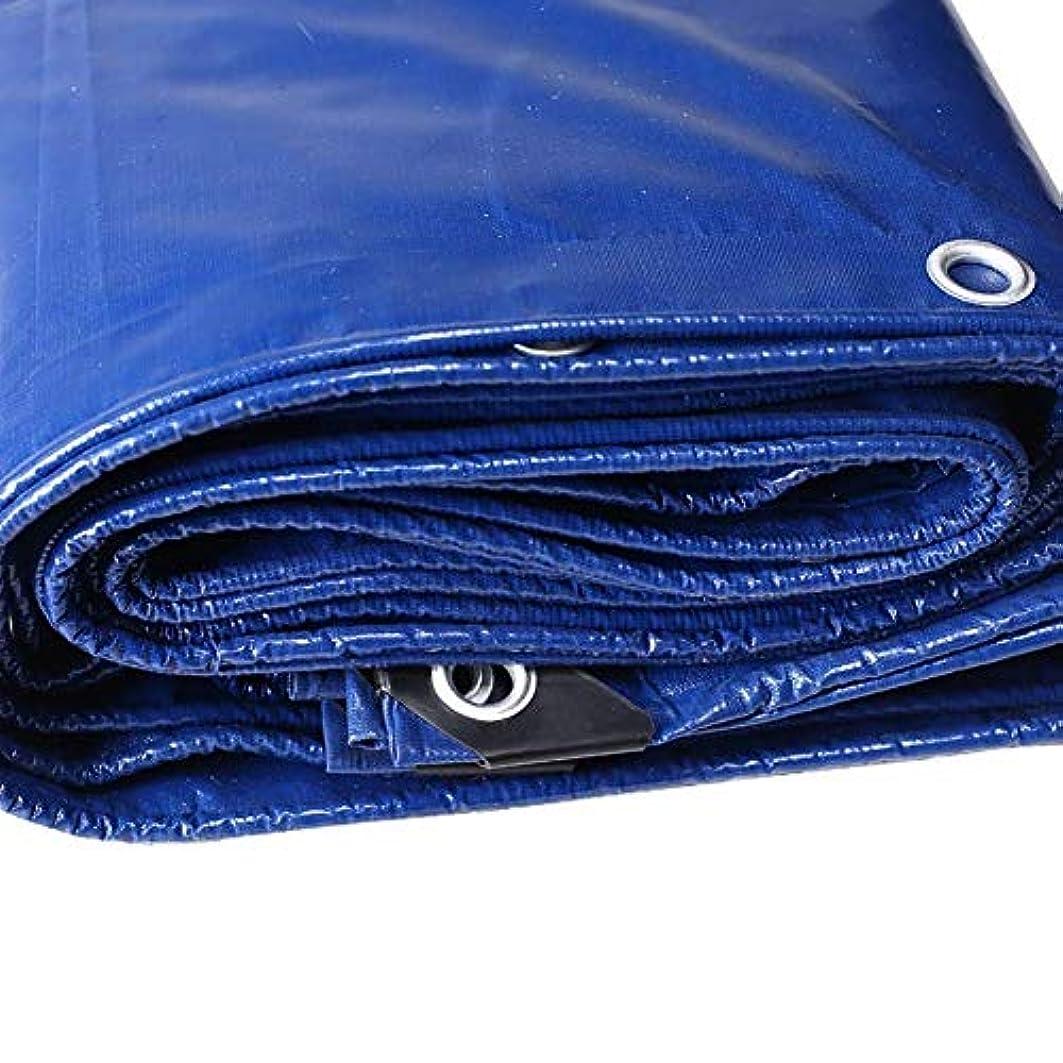 複雑な外国人ソーダ水防水、防水、厚手のテント屋根防水シート、耐摩耗多目的トレーラーカバー、ブルー FENGMIMG (色 : 青, サイズ さいず : 2*4m)