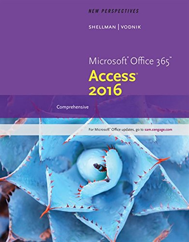 Download New Perspectives Microsoft Office 365 & Access 2016 1305880137