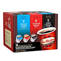 Tim Horton's シングルサーブコーヒーカップ バラエティーパック 36個