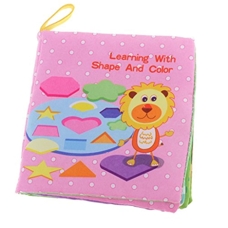Jiliオンラインベビーソフト布ファブリックBooksラトル早期教育玩具Developmental Learn図形for Toddlers幼児知的幼稚園Preschool Learningアクティビティ