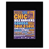 MOSELEY JAZZ FUNK SOUL FESTIVAL - Chic Nile Rodgers Bonobo Craig Charles - 2013 Mini Poster - 13.5x10cm