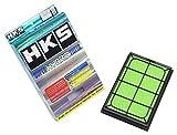 HKS スーパーハイブリッドフィルター アクセラ BLEAW, BLEAP.BK3P,BLEP ビアンテ CC3FW, CCEFW プレマシー CR3W,CREW マツダスピード アクセラ BL3FW.BK3P 70017-AZ007 エアクリーナー