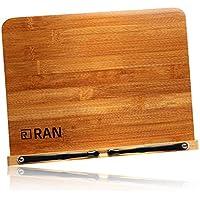 R-RAN ブックスタンド 書見台 データホルダー 本立て 文庫 対応 5段階調節 滑り止め付 高品質仕上