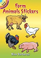 Farm Animals Stickers (Dover Little Activity Books Stickers)