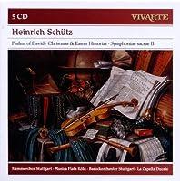 Heinrich Sch眉tz: Psalms of David, Christmas & Easter Historias, etc by Frieder Bernius