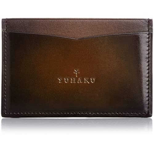 [ユハク] YUHAKU ベラトゥーラパスケース YVE180 DBR (ダークブラウン)
