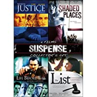 LIST/WHEN JUSTICE FALLS/SHADED PLACES/LIFE BEFORE