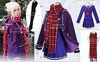 コスプレ衣装Fate/Grand Order 謎のヒロインX(オルタ)+靴下+マフラー+髪飾り+メガネ+ 冬服 +ウィッグ全セット