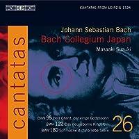 Bach: Cantatas, Vol 26 (BWV 180, 122, 96) /Bach Collegium Japan * Suzuki (2005-01-25)
