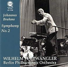 ブラームス : 交響曲第2番 / ヴィルヘルム・フルトヴェングラー | ベルリン・フィルハーモニー管弦楽団 (Brahms: Symphony No.2 / Furtwangler & Berliner Philharmoniker (1952)) [CD] [MONO] [Live Recording]