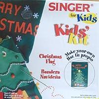 Singer For Kids, Kids' Kit: Christmas Flag