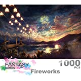 Ingooood- Imagination Series- Sky Fireworks- Jigsaw Puzzles 1000 Pieces for Adult