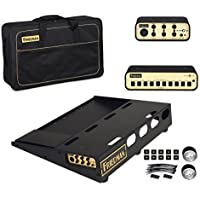 Friedman Amplification Tour Pro 1520 Platinum Pack 15 x 20 Pedal Board with Riser Professional Carrying Bag Power Grid 10 & Buffer Bay 6 [並行輸入品]