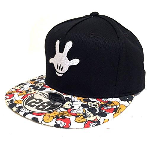 Disney ディズニー ミッキーハンド総柄キャップ Mickey Hand CAP ベースボールキャップ 帽子 キャラクターキャップ 原宿 HARAJUKU