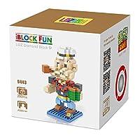 LOZUSA Cartoon Character 280 PCS Diamond Block Mini Figure Hero Micro Blocks Construction Model, Micro-Sized Building Set Parent-Child Games Building Blocks Children's Educational Toys