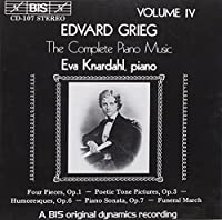 V 4: Complete Piano Music by EDVARD GRIEG (1994-09-22)