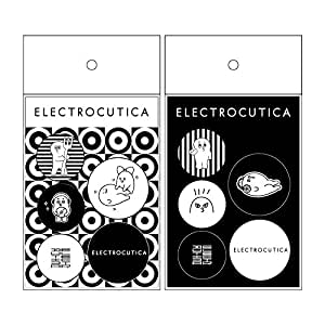 ELECTROCUTICA CAN BADGE SET|缶バッジ5個×2種類セット