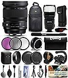 Sigma 24–105mm f4DG OS HSM Artレンズfor Nikon ( 635306) 3Pieceフィルタセット( - CPL - FLD ) +スタビライザーハンドル+スリ..