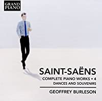 SAINT- SAENS/ COMPLETE PIANO WORKS 4