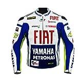 ロッシYamaha Team Racingレザージャケット XL (EU56) ホワイト YFJKT02