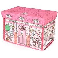 マザーガーデン Mother garden うさももちゃん ままごと収納ボックス ハウス 【遊べる&収納できるボックス】 おもちゃ 箱 入れ