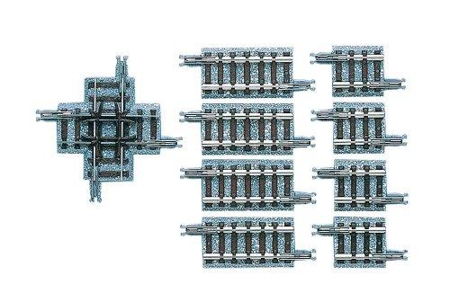 TOMIX Nゲージ 1324 クロッシングレール X37-90 (F) (補助レール付)