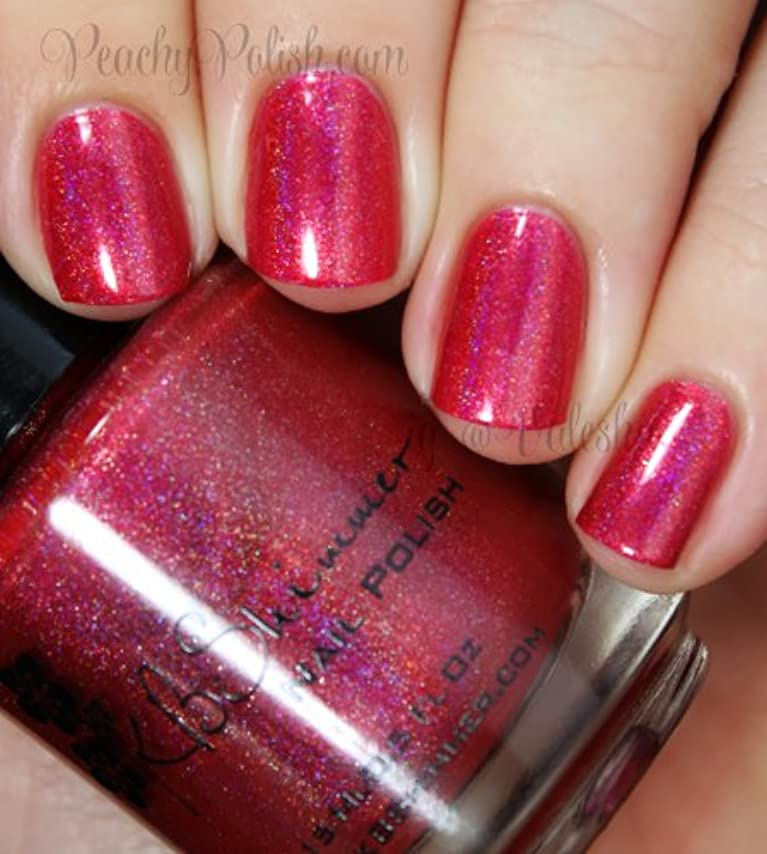 手紙を書く崖境界KBShimmer Whole Lava Lovin' Nail Polish [海外直送]
