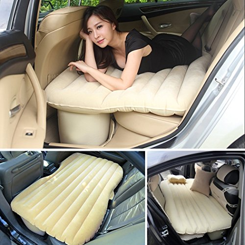 [해외]LUYING 차안 박 에어 매트 에어 침대 침대 키트 (카키) LY-ON001/LUYING Car Midnight Air Mat Air Bed Bed Kit (Khaki) LY-ON001