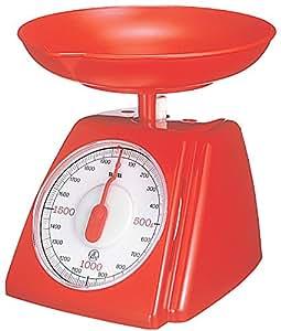 タニタ(TANITA)アナログクッキングスケール くるくる 2kg レッド 1408-RD