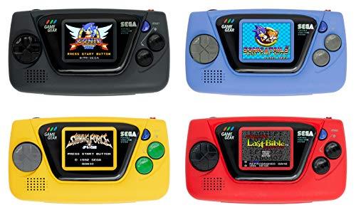 ゲームギア発売30周年を記念した手のひらサイズモデル「ゲームギアミクロ」カラバリ4色・4タイトルずつ収録