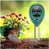 Youtato Soil Test Kit, Soil Tester 3-in-1 Soil Moisture Light PH Tester Gardening Tool Kits, Soil pH Meter for Garden Lawn Farm Indoor Outdoor Use Promote Plants Healthy Growth
