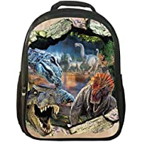 3D Animals Print Daypack Dinosaur Backpack Kids Rucksack School Bag