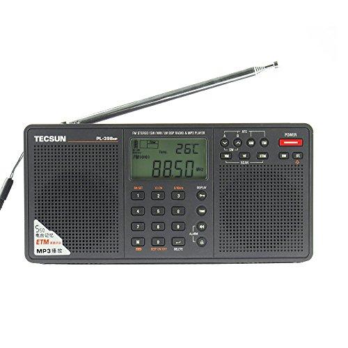 BCLラジオ PL-398MP 高感度 短波ラジオ 短波/A...