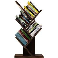 Smilemart ブックシェルフ 書棚 本棚 卓上 樹木型 オブジェ ラック コンパクト 省スペース ブックスタンド…
