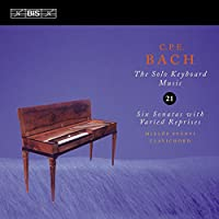 C.P.E.バッハ:鍵盤独奏曲全集 Vol.21 (C.P.E.Bach : Solo Keyboard Music Vol.21 / Miklos Spanyi)