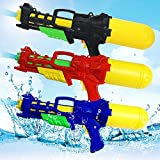 水鉄砲のおもちゃ子供の水鉄砲のおもちゃ大容量引き水銃のおもちゃ卸売空気圧水鉄砲夏のビーチ ( Color : Black , Size : M )