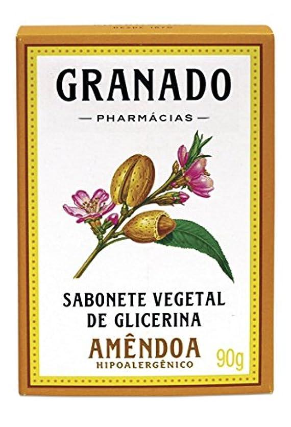 特異性不機嫌そうな気晴らしLinha Glicerina Granado - Sabonete em Barra Vegetal de Glicerina Amendoa 90 Gr - (Granado Glycerin Collection...