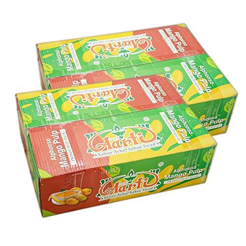 神戸アールティー Aarti アルフォンソ マンゴーピューレ (850g 24缶 【2ケース】)