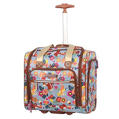 Lily Bloom Under the SeatデザインパターンCarry On Bag with Wheels