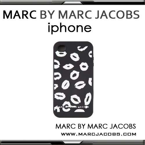 Marc by Marc Jacobs (マークバイマークジェイコブス)Silicone iPhone4 case シリコンケース【Mademoiselle Danger Print】並行輸入品