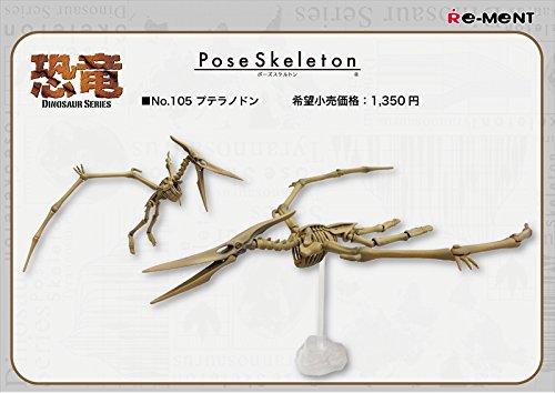 ポーズスケルトン 恐竜シリーズ105 プテラノドン