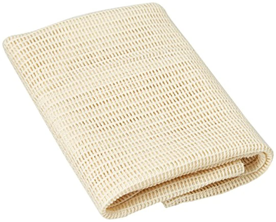 主張するかすかなフレア天然綿タオル