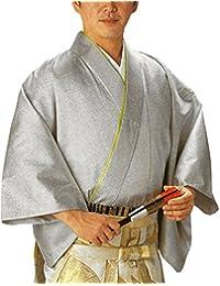 袴下着物 (銀ラメ) 伊達衿付 (踊り)仕立上り