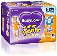BabyLove Walker Nappy Pants 12-17kg (25 pack x 3, 75 Total)
