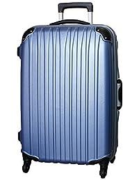 (ビータス) Beatas スーツケース TSAロック 軽量 アルミフレーム ビータス BH-F1000 Mサイズ エンボスライトブルー(中型 4日5日6日7日用) 【一年修理保証】【M/E-LB】SUITCASE