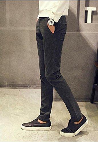 Shop358 秋冬 メンズ ロングパンツ 大きいサイズ 仕事用 通勤 オフィス 男性 カジュアル 全5色