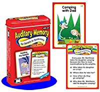 Auditory Memory for Details in Sentences Fun Deck Cards - Super Duper Educational Learning Toy for Kids [並行輸入品]